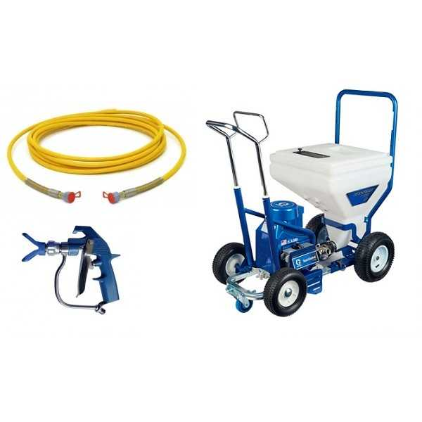 agregat do szpachli T-MAX 506 GRACO + HD BLUE
