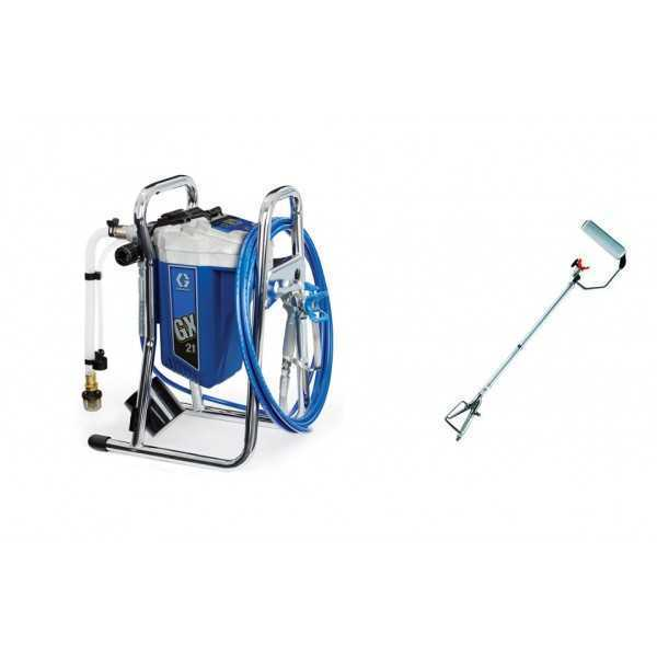 agregat malarski GX 21 GRACO + JETROLLER STRONG